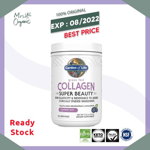 Foto Produk Garden of Life Grass Fed Collagen Super Beauty Powder - 20 servings dari Mrs Organic