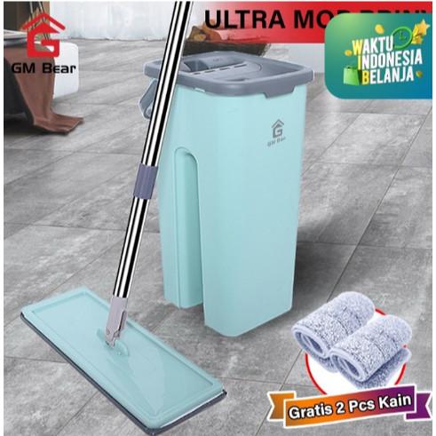 Foto Produk GM Bear Alat Pel Praktis Hijau 1079-Ultra Mop Briny Green dari Raka Here_shop
