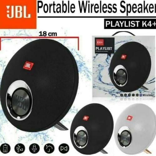 Foto Produk Speaker Bluetooth JBL K4+ Portable Wireless Speaker Playlist K4 Plus - Merah dari King Grosir Indo