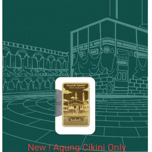 Foto Produk 1 gr Masjidil Haram Sertifikat PM / King Halim dari Agung Cikini Official