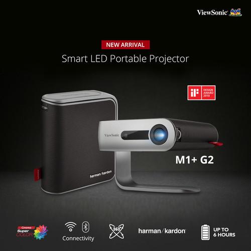 Foto Produk Projector Portable ViewSonic M1+ Plus |WiFi|Bluetooth|Harman Kardon dari 1 Tech Store