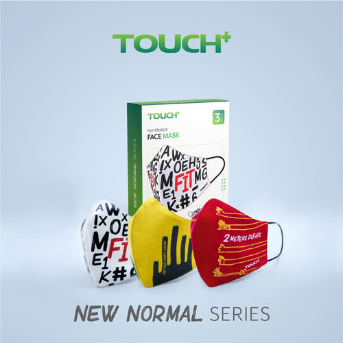 Foto Produk Masker Premium Touch+ Versi 2 - M dari NASTYProject