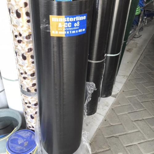 Foto Produk Fibre pagar . PENUTUP PAGAR TEBAL 0.8 mm Hitam . Plastik penutup pagar - Hitam dari Beauty&Healthy Shop