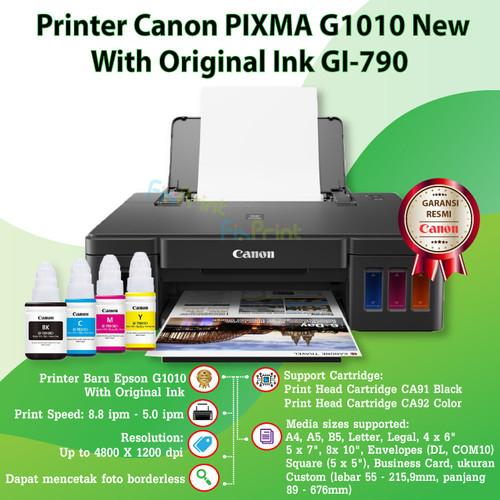 Foto Produk Printer Inkjet Canon G1010 G 1010 Pixma Ink Tank System - COMPATIBLE INK dari FixPrint Jakarta