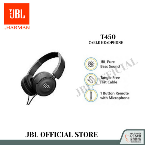 Foto Produk JBL T450 Blue dari JBL Official Store