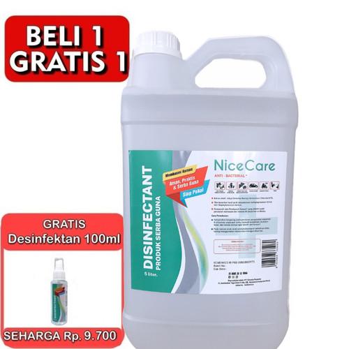 Foto Produk Disinfektan 5 Liter Siap Pakai Food Grade Izin Edar DEPKES dari GCL Official Store