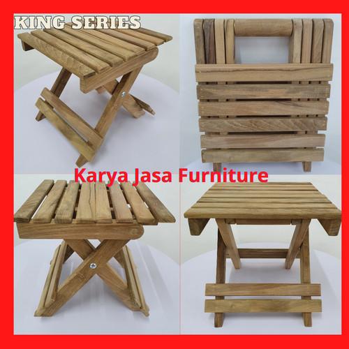 Foto Produk KURSI PANCING LIPAT KAYU JATI (KING) dari Karya Jasa Furniture Manufacturer
