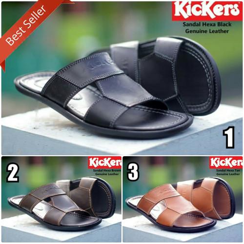 Foto Produk SEPATU SANDAL PRIA KICKERS HEXA SLOP ORIGINAL dari Otak Footwear