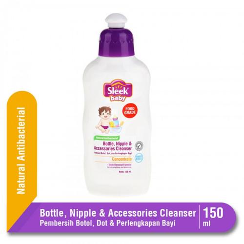 Foto Produk Sleek Baby Bottle Nipple & Accessories Cleanser 150 ml dari i do my hobbies