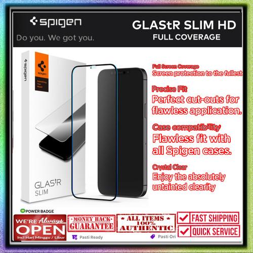 Foto Produk Glass iPhone 12 Pro Max 12 Pro Mini SPIGEN GLAStR FULL COVERAGE - 12 Mini dari Spigen Indonesia