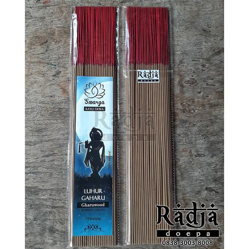 Foto Produk Dupa Hio Natural LUHUR GAHARU 72 batang Premium Gaharu Borneo dari Radja Doepa