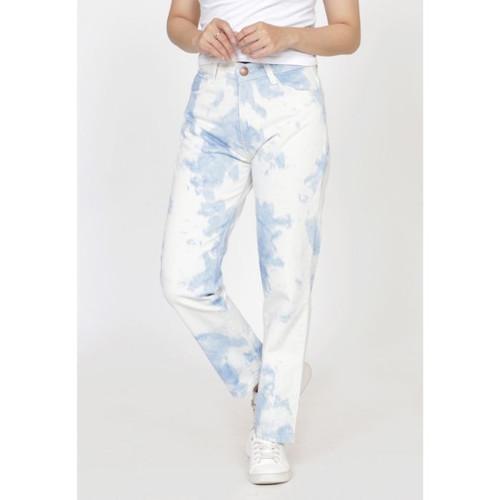 Foto Produk Celana panjang jeans Wanita ZAHRA SIGNATURE Longpant Denim Tiedye - Biru Muda, 27 dari Zahra Signature