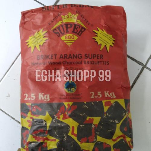 Foto Produk Briket arang super BBQ 2,5kg 2 dari Egha shopp 99
