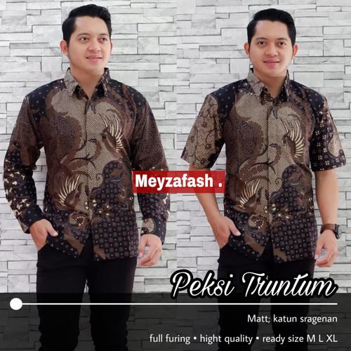 Foto Produk kemeja pria lengan pendek batik truntum peksi dari Jivan Batik