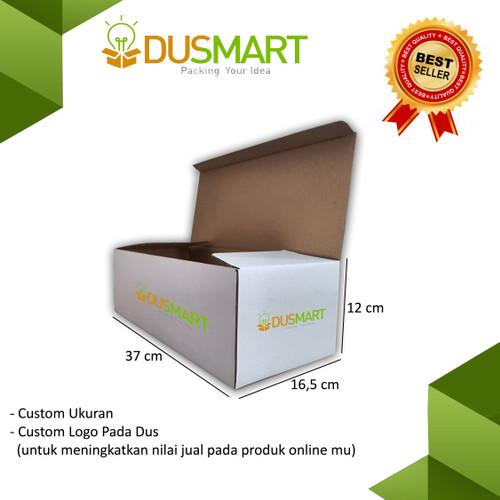 Foto Produk Kardus 37x16,5x12 / Karton / Box Sepatu / Printing Logo - Dusmart dari DUSMART Official Store
