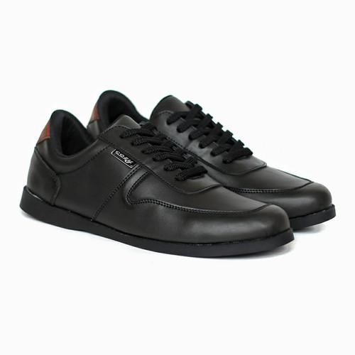 Foto Produk Sepatu Pria Casual Kasual Type Brodo Semi Formal Cowok Original Cozy - Hitam, 39 dari nazwa shoes