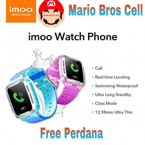 Foto Produk Jam Tangan Imoo GPS Y1 Original 100% Violet - Ungu dari Mario Bros Cell