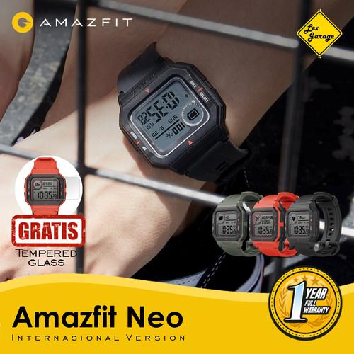 Foto Produk Smartwatch Amazfit Neo Retro International Version Smart Watch - Hitam dari Lex Garage