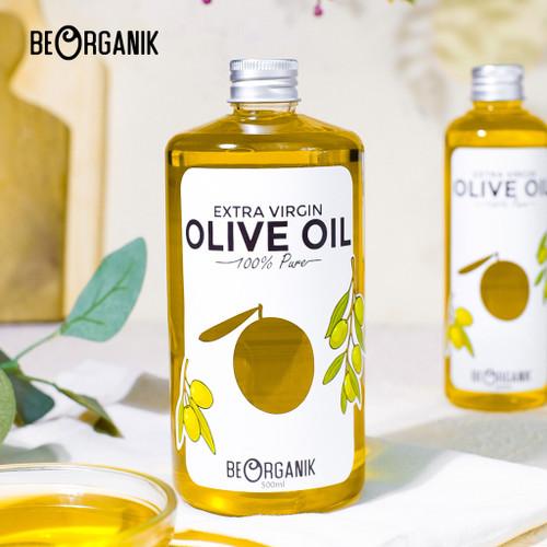 Foto Produk Extra Virgin Olive Oil 500ml - Minyak Zaitun Murni Beorganik dari Beorganik