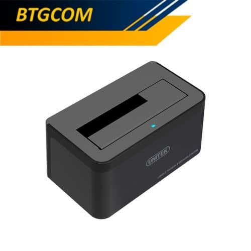 Foto Produk Unitek Y-1078 USB 3.0 to SATA III Harddisk/HDD Docking Station Y1078 dari BTGCOM