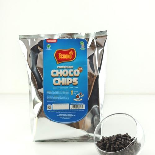 Foto Produk Chocolate Chips Schoko /cokelat chips / cokelat enak / topping cokelat dari bakingmart jakarta