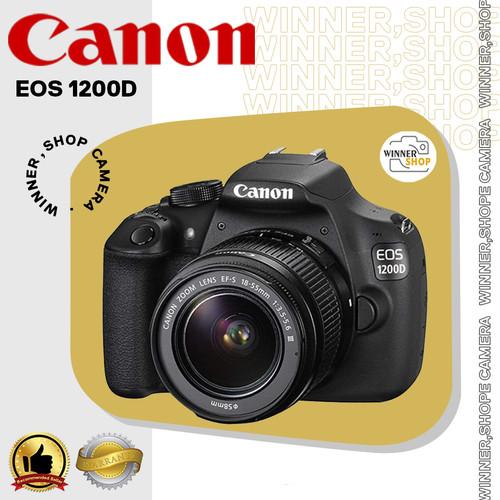 Foto Produk kamera Canon EOS 1200D + 18-55 ; Camera Canon eos 1200 d kit dari winner,shop camera