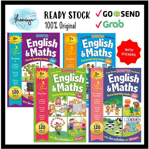 Foto Produk Leap Ahead Bumper Workbook 3+ 5+ 7+ 9+ Preschool Kindergarten Book - 7+ dari Thevringe