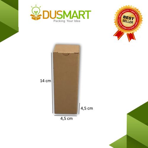 Foto Produk Kardus 4,5x4,5x14 /Karton/ Box/Kotak Parfum Polos / Diecut - Dusmart dari DUSMART Official Store