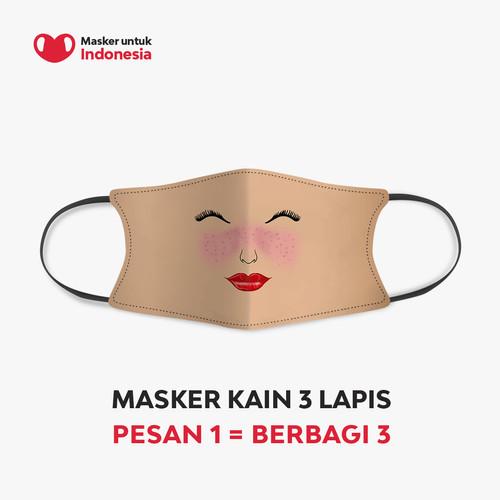 Foto Produk Ayu Dewi x Masker untuk Indonesia dari Masker untuk Indonesia