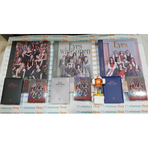 Foto Produk Twice Official Album - EYES WIDE OPEN 2nd Full Album SEALED - STORY dari Felix Whatzup Shop