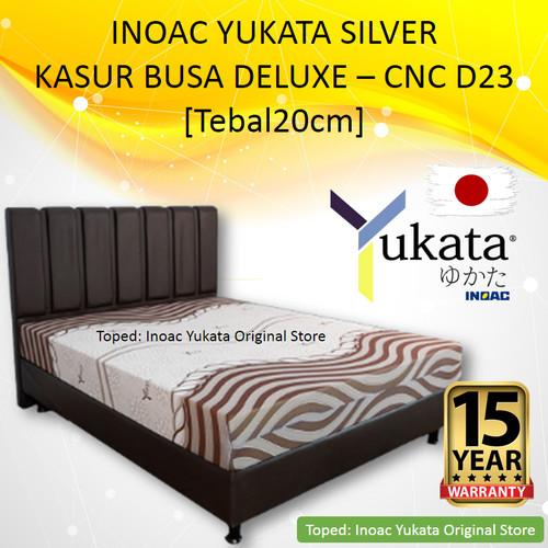 Foto Produk [160x20] Yukata Silver | Kasur Busa Inoac Yukata Silver Busa CNC D23 dari Inoac Yukata Original Store
