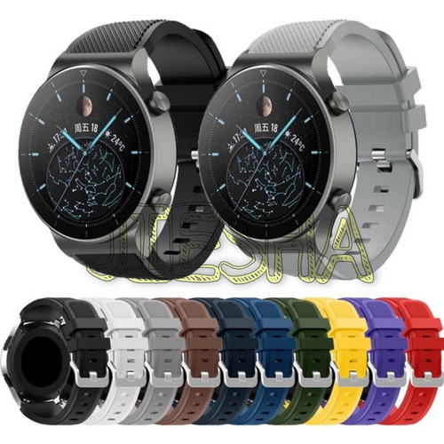 Foto Produk STRAP TALI JAM WATCH BAND HUAWEI WATCH GT 2 PRO GT2 PRO RUBBER KARET - Tulis di Note dari Jiesha Shop