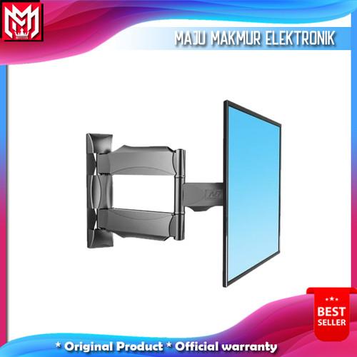 Foto Produk Bracket brecket breket tv lengan /bracket swivel up to 55inc - Hitam dari maju Makmur elektronik