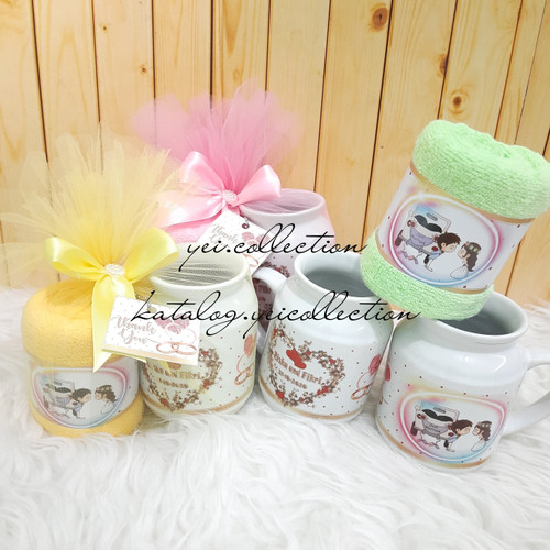 Foto Produk Hampers One Month / Hampers Baby Born / Souvenir One Month dari yei.collection