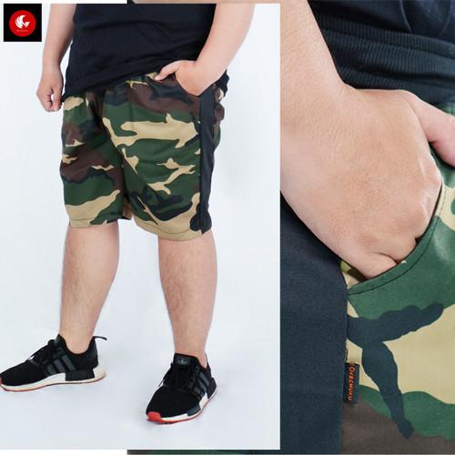 Foto Produk Okechuku ECO Celana Pendek JUMBO Motif Army Fashion BIG SIZE Pria dari Okechuku