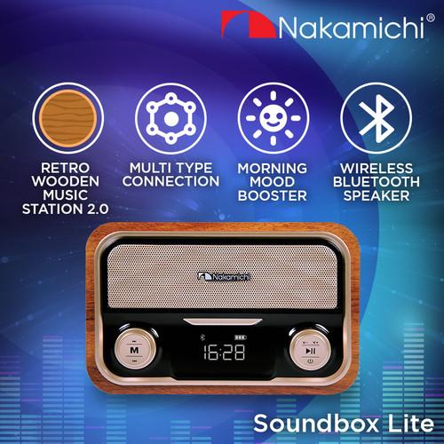 Foto Produk Nakamichi Soundbox LITE Speaker Portable Audio Wireless Bluetooth dari Nakamichi Indonesia