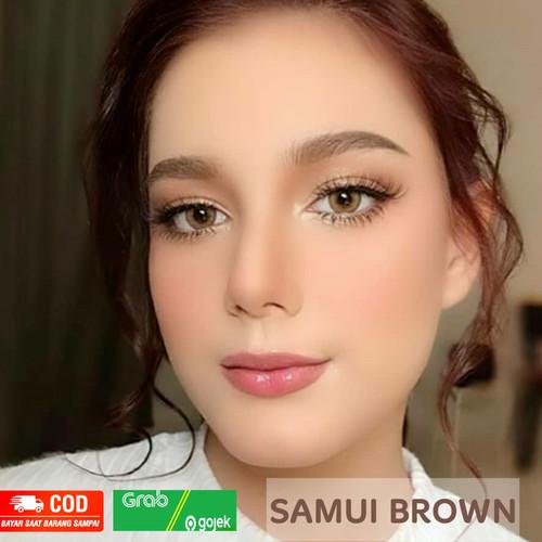 Foto Produk SOFTLENS SAMUI BROWN DREAMCOLOR (NORMAL/MINUS) ORIGINAL KOREA - SAMUI BROWN, MINUS dari seoul21