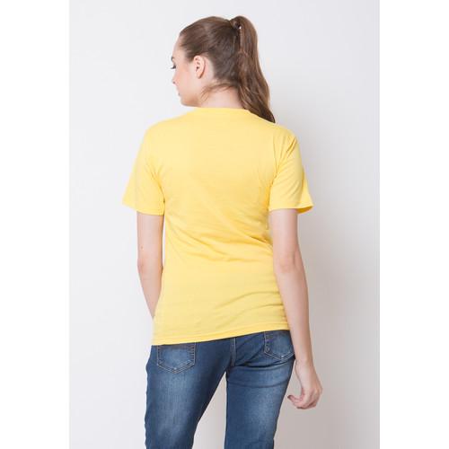Foto Produk T-Shirt Series (Baju Polos Kuning - L dari Arsenio Apparel Store