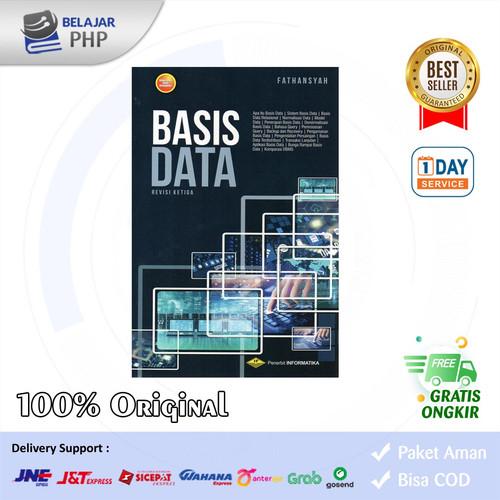 Foto Produk BUKU BASIS DATA REVISI KETIGA - Fatahsyah - Informatika dari Belajar PHP
