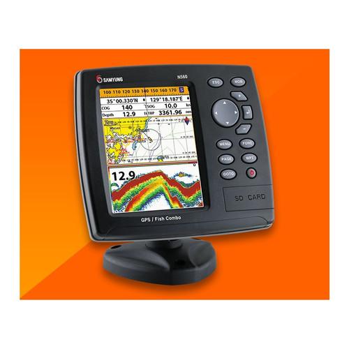 Foto Produk Samyung N560 GPS Chartplotter Ori Baru Navigasi DGPS WAAS AIS dari Hanika Communication