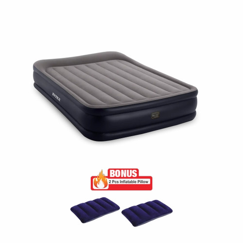 Foto Produk [INTEX] Durabeam AIRBED (Kasur Angin) + Bantal Angin dari MNC Shop