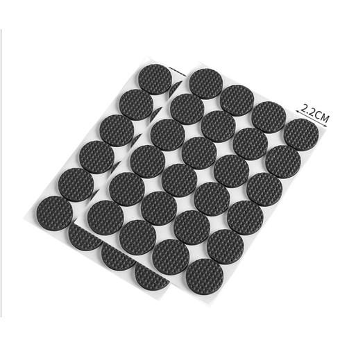 Foto Produk Pengganjal Karet alas Kaki Meja /Kursi /perabotan anti slip 1set(4pcs) - Bulat D 2,2 dari King Mobile