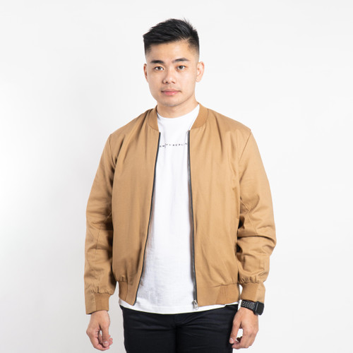 Foto Produk JAKET BOMBER PRIA SMITH BERLIN ALPHA BOMBER BROWN - S dari Smith Berlin