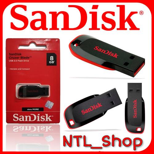 Foto Produk Flashdisk Sandisk 8gb cz50 dari Ntl_shop