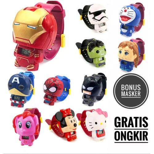 Foto Produk Jam tangan anak laki laki karakter / Jam anak / Jam karakter - Batman dari fina fani store