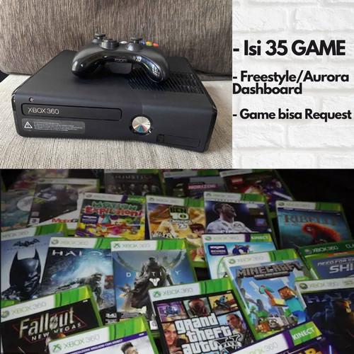 Foto Produk XBOX 360 SLIM 250GB RGH FULL GAMES BISA PILIH dari Mikki Games