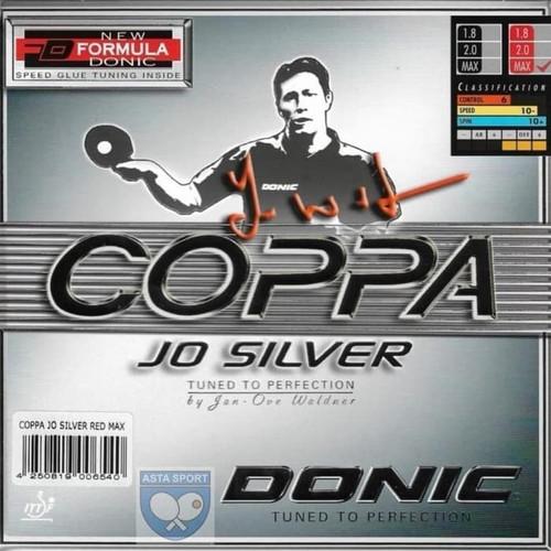 Foto Produk DONIC Coppa JO Silver Karet Pingpong Rubber Tenis Meja - Hitam dari ASTA SPORT DONIC STORE