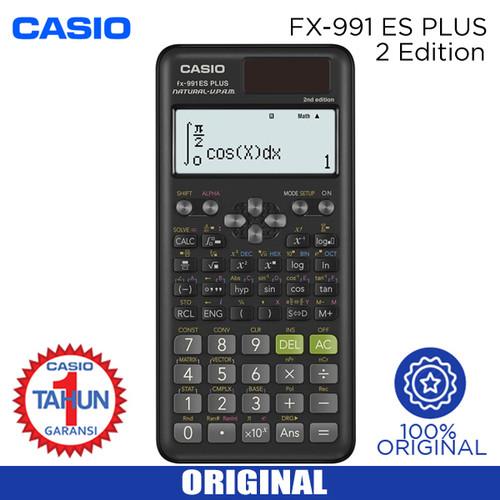 Foto Produk KALKULATOR CASIO FX 991 ES PLUS 2nd Edition dari JED PLAZA