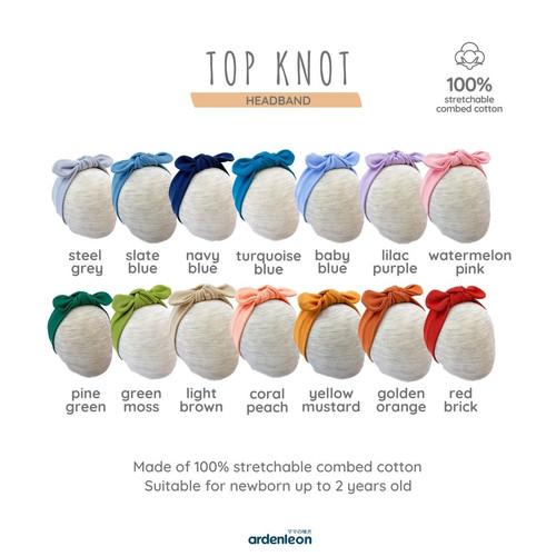 Foto Produk ARDENLEON Top Knot Headband - Golden Orange dari ARDENLEON