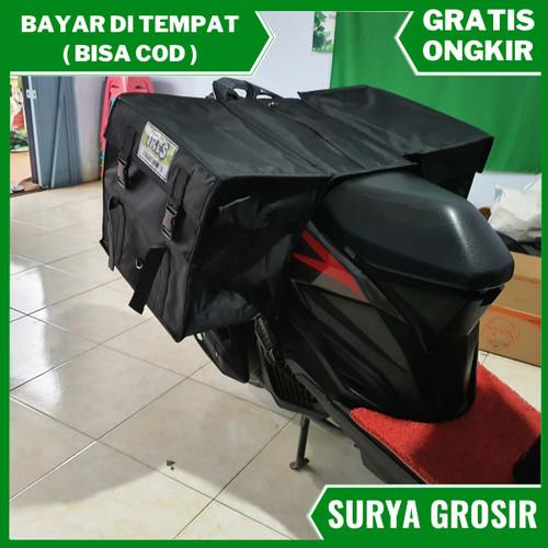 Foto Produk tas kurir makanan tas motor kecil tas motor barang anti air dari surya grosir murah